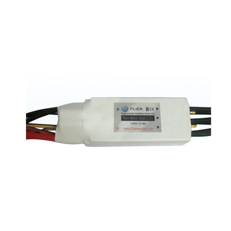 16S 300A brushless watercool controller twin esc for RC boat