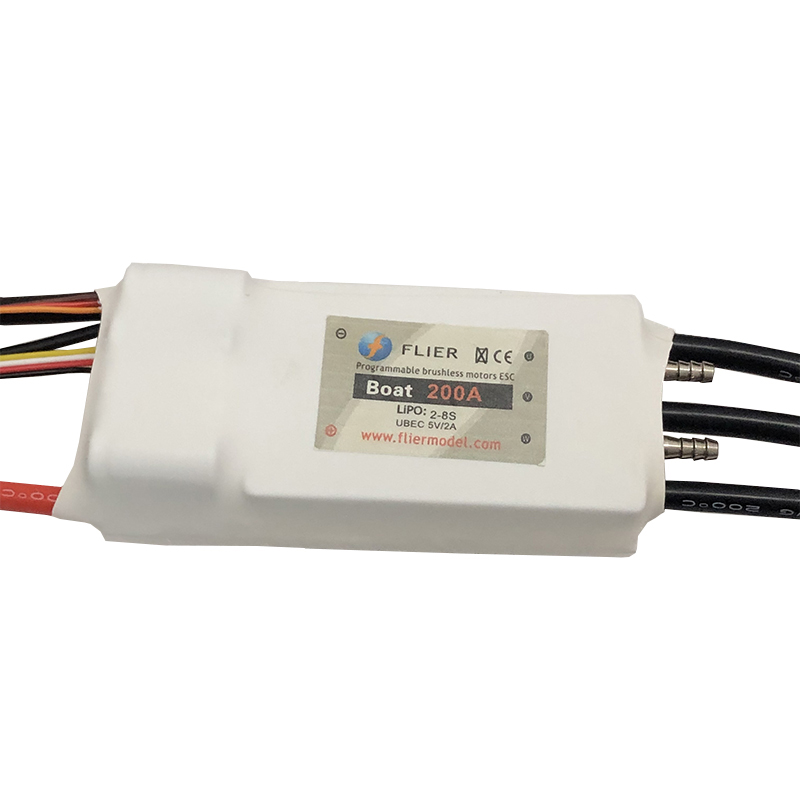 8S 200A brushless watercool controller esc for RC boat